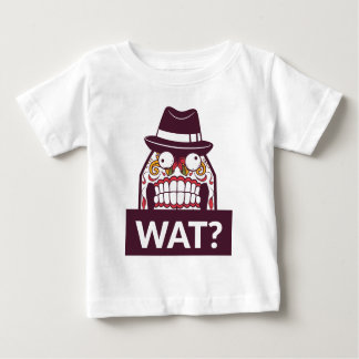 what wat scary teeth design baby T-Shirt