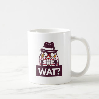 what wat scary teeth design coffee mug