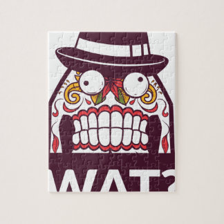 what wat scary teeth design jigsaw puzzle