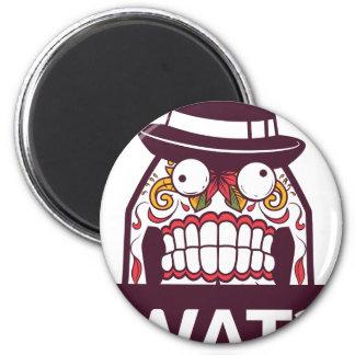 what wat scary teeth design magnet