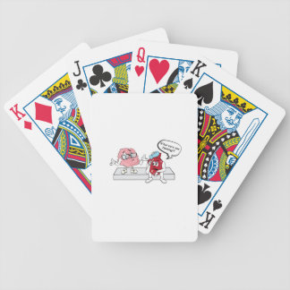What Were You Thinking?! Bicycle Playing Cards