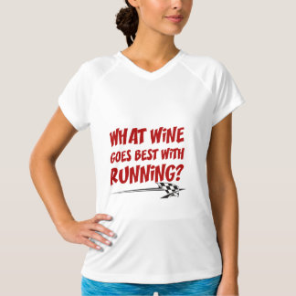What Wine Goes With Running T-Shirt