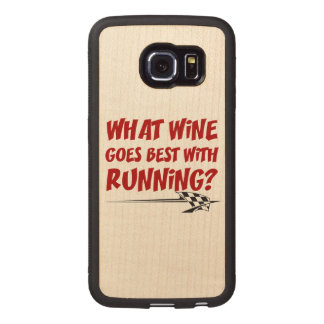 What Wine Goes With Running Wood Phone Case