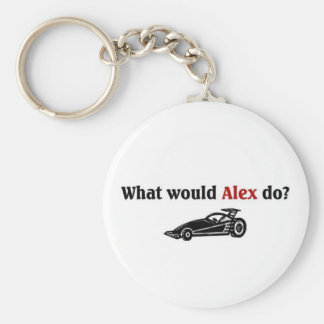 What would Alex do Keychain