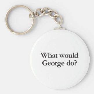 what would george do key chains