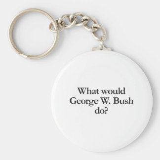 what would george w bush do keychain