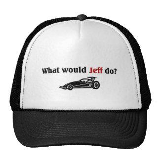 What would Jeff do Trucker Hat