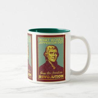 What Would Jefferson Do? Mug