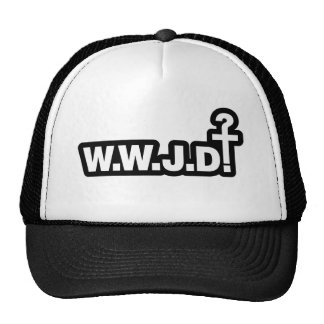 What Would Jesus Do? Mesh Hats