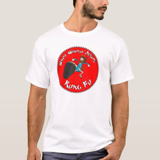 What Would Jesus Kung Fu T-Shirt