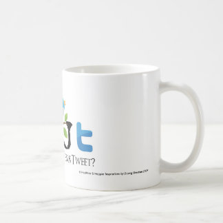 """What Would Jesus Tweet"" No Speech Bubble Coffee Mug"