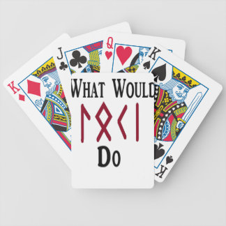 What Would LOKI Do Bicycle Playing Cards