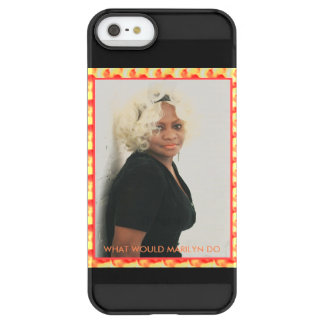WHAT WOULD MARILYN DO .... LET'S TEXT HER ! PERMAFROST® iPhone SE/5/5s CASE