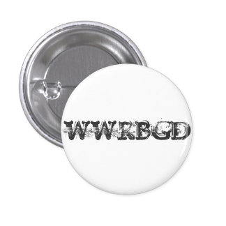 What Would RBG Do? 1 Inch Round Button