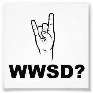 What Would Satan Do?  WWSD? Photograph