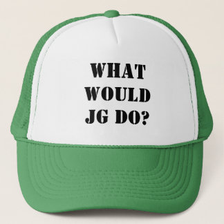 WHAT WOULDJG DO? TRUCKER HAT