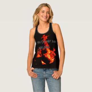 "What you can not avoid, welcome"" wildfire shirt"