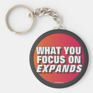 What You Focus on Expands Keychain