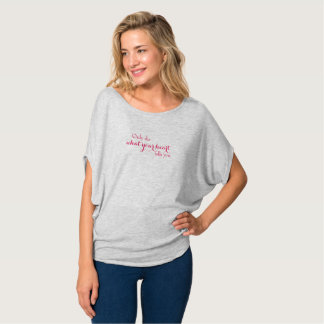 What Your Heart Tells You  - Pink T-Shirt