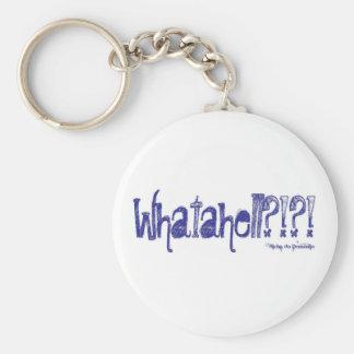 Whatahell Azul Keychain