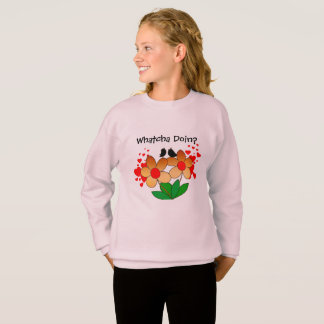 Whatcha Doin? Comfy Sweatshirt for Youth