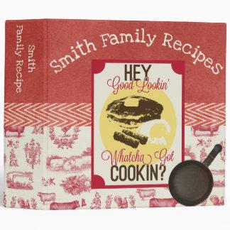 Whatchya Got Cookin' Recipe Binder