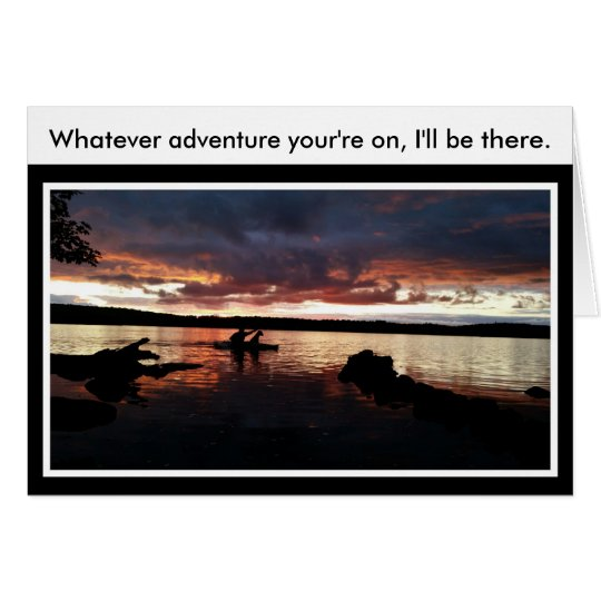Whatever Adirondack Adventure Card for Writing