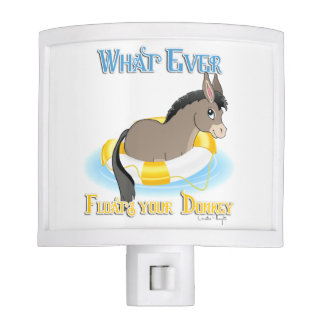 Whatever Floats Your Donkey Nite Lights