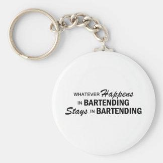 Whatever Happens - Bartending Keychain