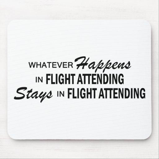 Whatever Happens - Flight Attending Mousepads