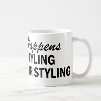 Whatever Happens - Hair Styling Classic White Coffee Mug