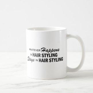 Whatever Happens - Hair Styling Coffee Mug