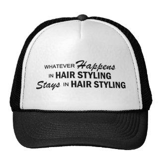 Whatever Happens - Hair Styling Trucker Hat