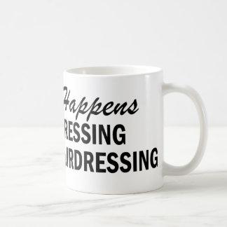 Whatever Happens - Hairdressing Classic White Coffee Mug