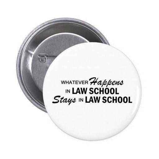 Whatever Happens - Law School Button