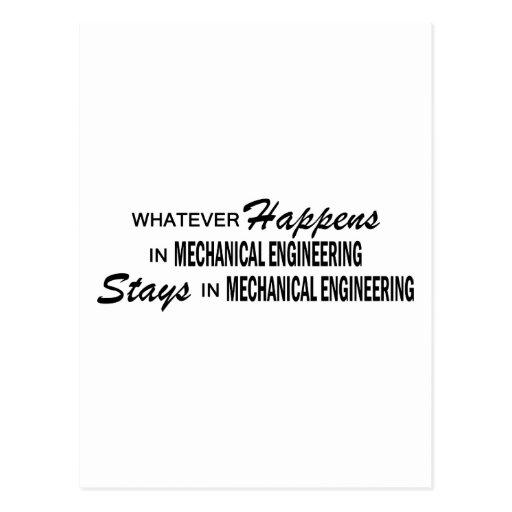 Whatever Happens - Mechanical Engineering Postcards