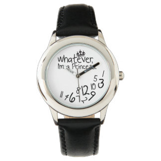 whatever, I'm a princess Wrist Watch