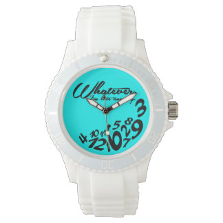 whatever, I'm late anyway - mint green Watch