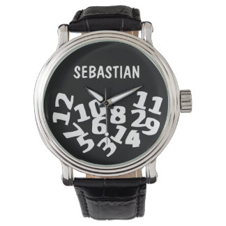 Whatever Im Late Anyway Personalized Watch