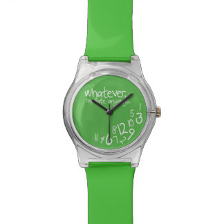 Whatever, I'm late anyways - Green Watch