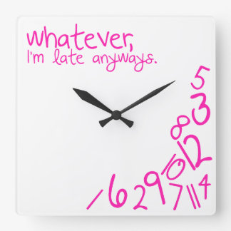 whatever wallclocks