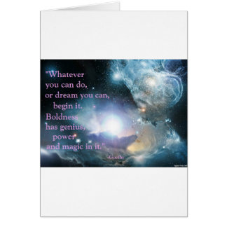 Whatever you can do card