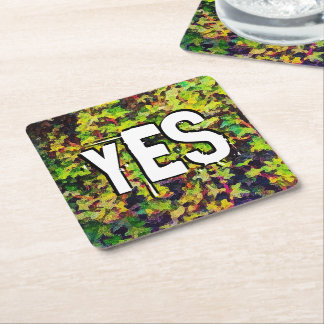 Whatever You Do Work Heartily Colossians 3 23 Square Paper Coaster
