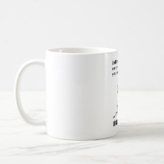 Whatever You Say is Irrelephant Elephant Coffee Mug