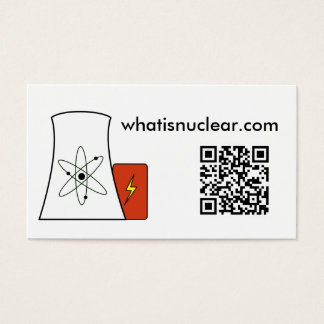 Whatisnuclear.com business cards