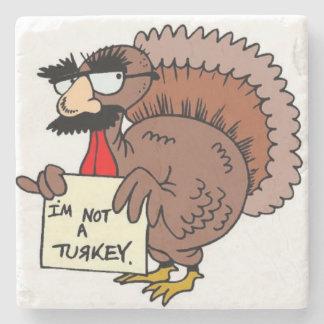 What's a Turkey? Stone Coaster