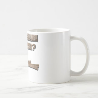 What's Brown and Sticky Joke Coffee Mug