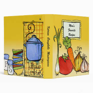 What's Cookin' Recipe Binder