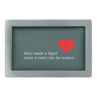 What's love got to do with it belt buckle