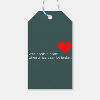 What's love got to do with it gift tags
